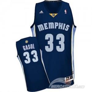 Canotte NBA Rivoluzione 30 Gasol Memphis Grizzlies Blu