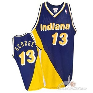 Maglie Shop George Indiana Pacers Blu
