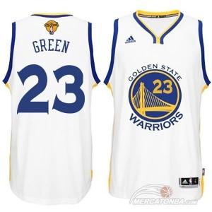 Canotte NBA Rivoluzione 30 Green Golden State Warriors Bianco