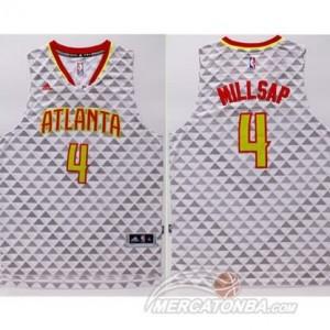 Maglie Basket Millsap Atlanta Hawks Bianco