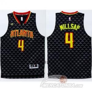 Maglie Basket Millsap Atlanta Hawks Nero