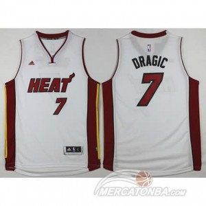 Maglie Shop Dragic Miami Heats Bianco