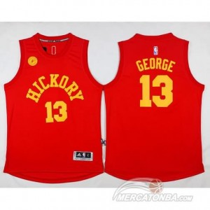 Maglie Basket Hickory George Indiana Pacers Rojo