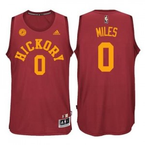 Maglie Basket Hickory Miles Indiana Pacers Rosso