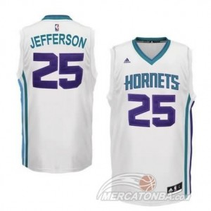 Canotte Basket Hornets Jefferson New Orleans Hornets Bianco