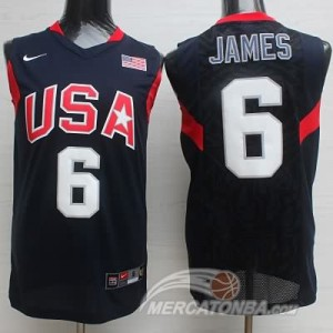 Canotte James USA 2008 Nero