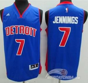 Maglie Basket Jennings Detroit Pistons Blu