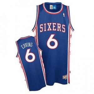 Maglie Basket Julius Erving Philadelphia 76ers Blu