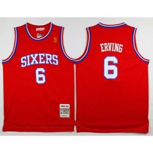 Maglie Basket Julius Erving Philadelphia 76ers Rosso