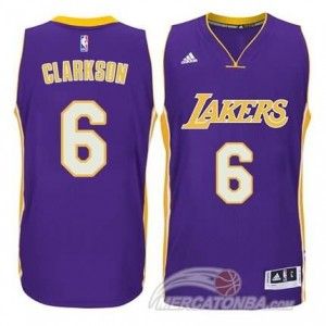 Maglie Shop Clarkson Los Angeles Lakers Porpora