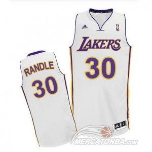 Maglie Basket Randle Los Angeles Lakers Bianco