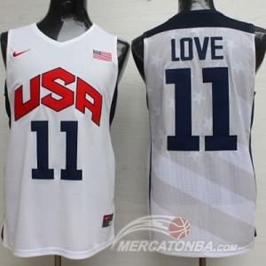 Canotte Love USA 2012 Bianco