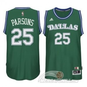 Maglie Basket Parsons Dallas Mavericks Verde