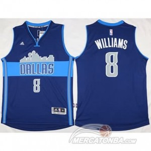 Maglie Basket Williams Dallas Mavericks Blu