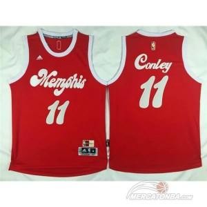 Maglie Shop Conley Christmas Memphis Grizzlies Rosso