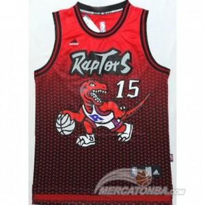 Canotte Basket Moda Raptors Carter Rosso