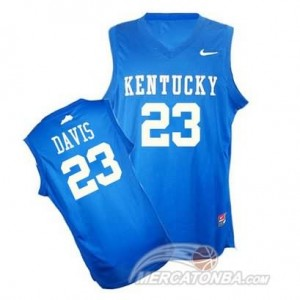 Canotte Basket NCAA Kentucky Davis Blu