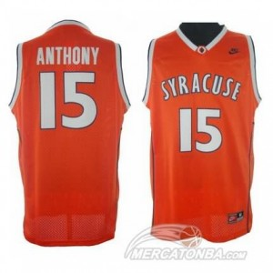 Canotte Basket NCAA Syracuse Anthony Arancione