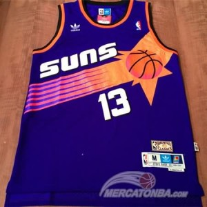 Maglie Basket Nash Phoenix Suns Viola