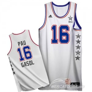 Canotte NBA Pau All Star 2015 Bianco