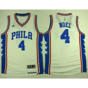 Maglie Basket Phila Noel Philadelphia 76ers Bianco