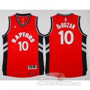 Maglie NBA Derozan Toronto Raptors Rosso