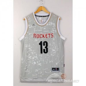 Canotte Basket Luces Rockets Harden Grigio
