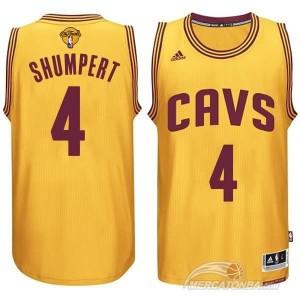 Canotte NBA Rivoluzione 30 Shumpert Cleveland Cavaliers Giallo