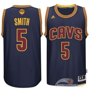 Canotte NBA Rivoluzione 30 Smith Cleveland Cavaliers Blu