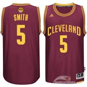 Canotte NBA Rivoluzione 30 Smith Cleveland Cavaliers Rosso