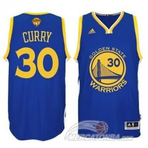 Maglie Shop Curry Golden State Warriors Blu