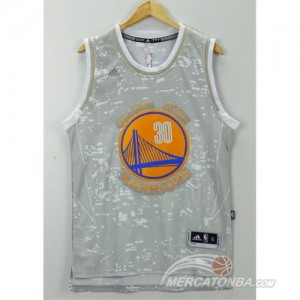 Canotte Basket Luces Warriors Curry Grigio