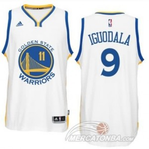 Maglie Basket Iguodala Golden State Warriors Bianco