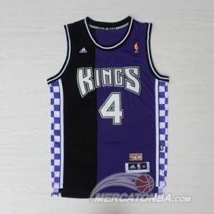 Canotte NBA Rivoluzione 30 Webber Sacramento Kings Blu