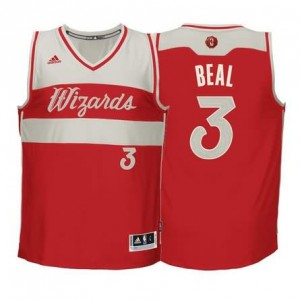 Maglie Beal Christmas Washington Wizards Rosso