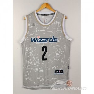Canotte Basket Luces Wizards Wall Grigio