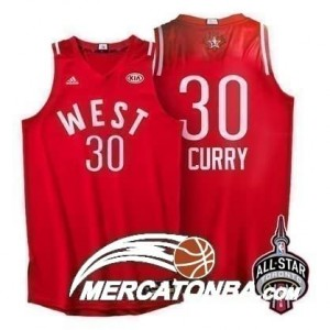 Canotte NBA Curry All Star 2016 Rosso