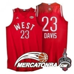 Canotte NBA Davis All Star 2016 Rosso