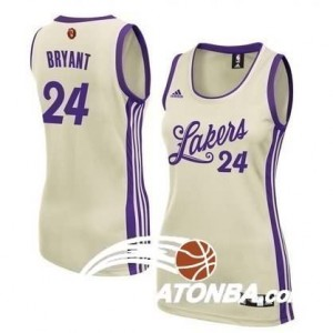 Maglie NBA Donna Bryant Christmas Cleveland Lakers