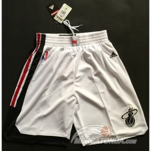 Pantaloni NBA Miami Heats Bianco