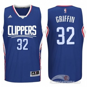 Maglie Shop Griffi Los Angeles Clippers Blu