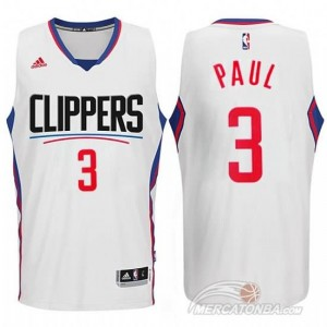 Maglie Basket Paul Los Angeles Clippers Bianco