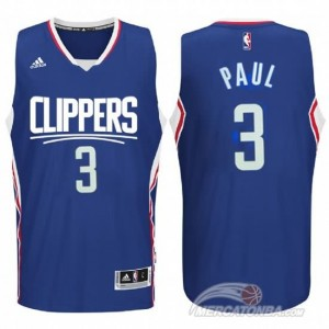 Maglie Basket Paul Los Angeles Clippers Blu