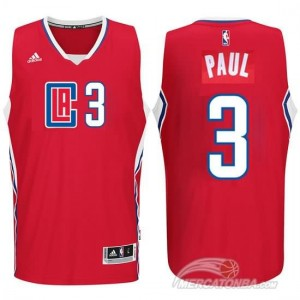 Maglie Basket Paul Los Angeles Clippers Rosso