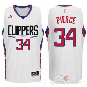 Maglie Basket Pierce Los Angeles Clippers Bianco