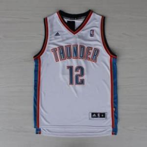 Canotte NBA Rivoluzione 30 Adams Oklahoma City Thunder Bianco
