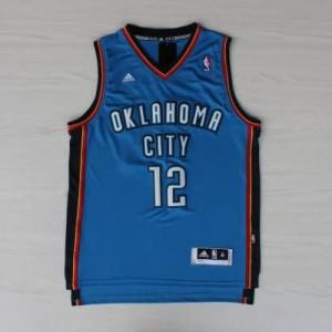 Canotte NBA Rivoluzione 30 Adams Oklahoma City Thunder Blu