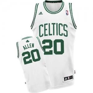 Canotte NBA Rivoluzione 30 Allen Boston Celtics Bianco