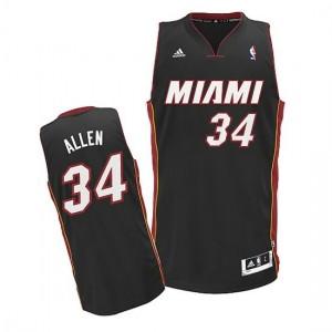 Canotte NBA Rivoluzione 30 Allen Miami Heats Nero