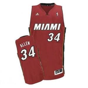Canotte NBA Rivoluzione 30 Allen Miami Heats Rosso